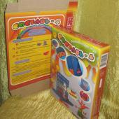 Упаковка для игрушек из микрогофрокартона с полноцветной печатью