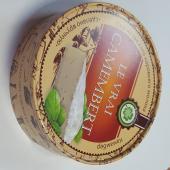 Круглая коробка для сыра из пищевого картона, размер 120х35