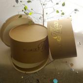 Тортовая круглая коробка из пищевого картона, диаметр 18 см